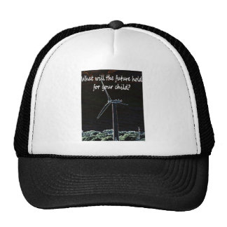 Windmills for the future generation mesh hats