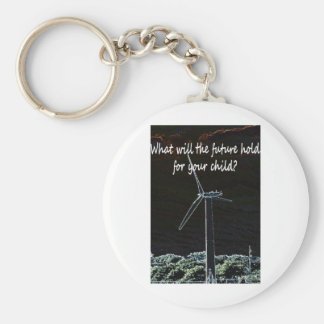 Windmills for the future generation keychain