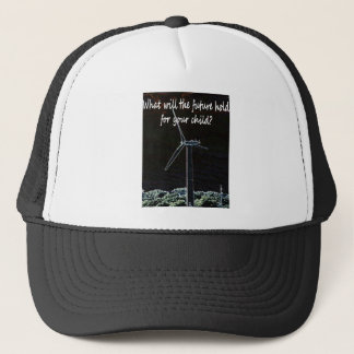 Windmills for the future generation trucker hat