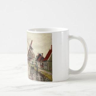 Windmills in Holland by Claude Monet Coffee Mug