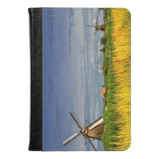 Windmills in Kinderdijk, Holland, Netherlands Kindle Case