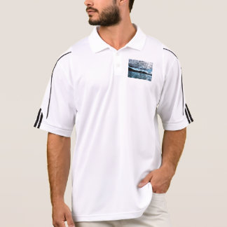 Windmills in paradise polo shirt