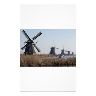 Windmills In The Netherlands Stationery