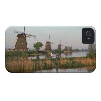 Windmills, Kinderdijk, Netherlands iPhone 4 Cases
