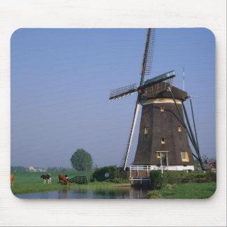 Windmills, Leidschendam, Netherlands Mouse Pad