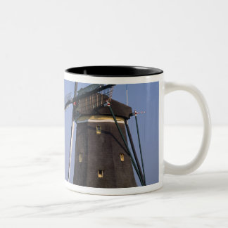 Windmills, Leidschendam, Netherlands Two-Tone Coffee Mug
