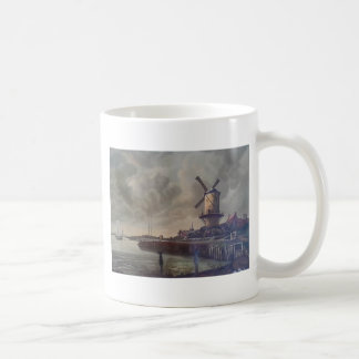 Windmills Meow Coffee Mug