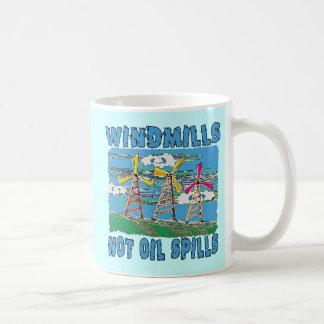 Windmills Not Oil Spills Tshirts Mugs