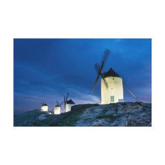 Windmills of Consuegra Lona Estirada Galerias