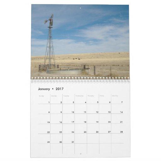 Calendar Design Ks : Windmills of western kansas calendar zazzle