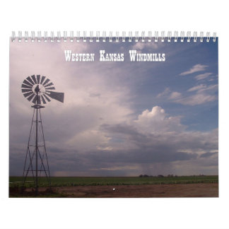 Windmills of Western Kansas Calendar