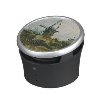 Windmills on Montmartre by Vincent Van Gogh Bluetooth Speaker