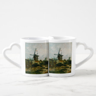 Windmills on Montmartre by Vincent Van Gogh Coffee Mug Set