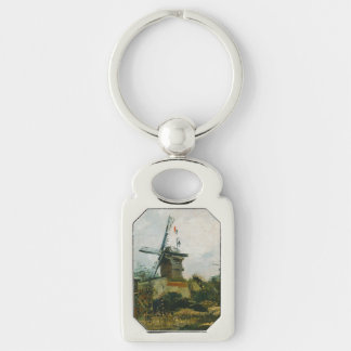 Windmills on Montmartre by Vincent Van Gogh Key Chain
