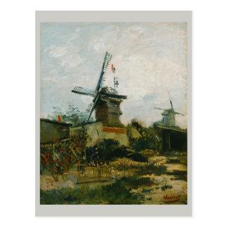 Windmills on Montmartre by Vincent Van Gogh Postcard