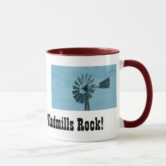 Windmills Rock! Mug