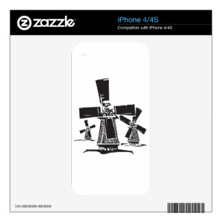 Windmills Skins For The iPhone 4