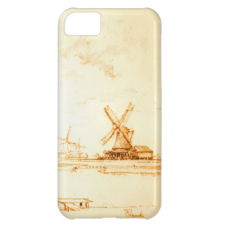 Windmills Zaandam Holland 1897 Cover For iPhone 5C