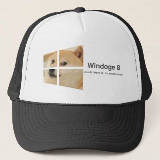 Windoge 8 trucker hat
