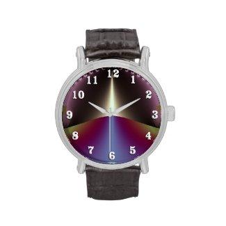 Windoow on the Purple Highway Wrist Watches