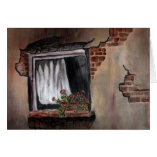 Window #1 - Porcelain Painting Cards