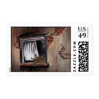 Window #1 postage