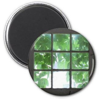 Window 2 Inch Round Magnet