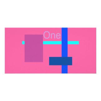 Window 2 Pink Sherbet Custom Photo Card