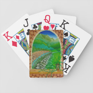 Window 9 playing cards