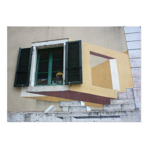 Window and Swiss Graffiti, Saint Imier Custom Announcements