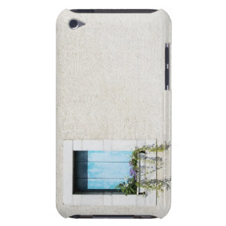 Window and window-box of flowers in plain wall barely there iPod cover