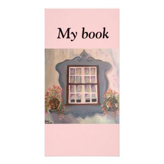 window-bookmark personalized photo card