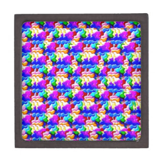 window butterfly stereogram gift box