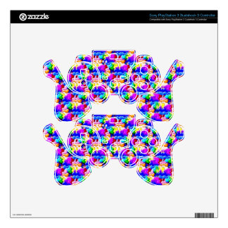 window butterfly stereogram PS3 controller decals