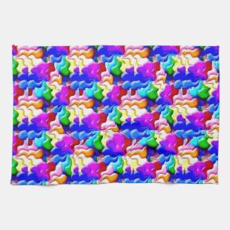 window butterfly stereogram towel