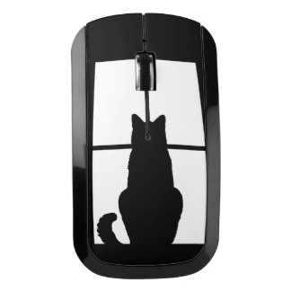 Window Cat Click and Customize Get any color decor Wireless Mouse