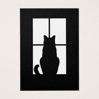 Window Cat Click to Customize Get any color decor Business Card