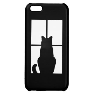 Window Cat Click to Customize Get any color decor Cover For iPhone 5C