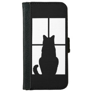 Window Cat Click to Customize Get any color decor iPhone 6 Wallet Case