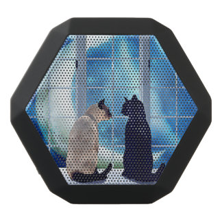 Window Cats Black Bluetooth Speaker