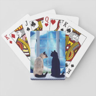 Window Cats Card Deck