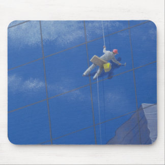 Window Cleaner 1990 Mouse Pad