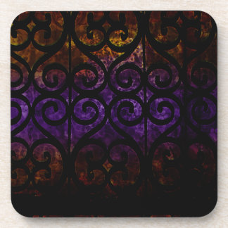 Window Coils Drink Coasters