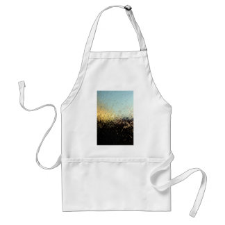 Window color abstract texture adult apron