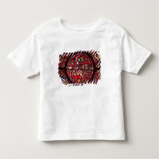 Window depicting a wine merchant toddler t-shirt