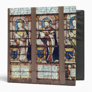 Window depicting Louis de Bourbon 3 Ring Binder