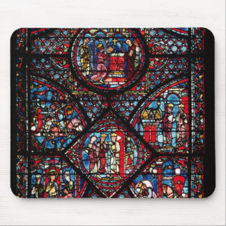 Window depicting scenes mousepads