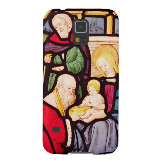 Window depicting the Adoration of the Magi Galaxy S5 Cover