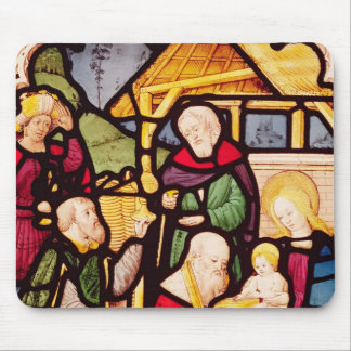 Window depicting the Adoration of the Magi Mouse Pad