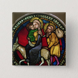 Window Depicting the Flight into Egypt Button